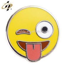 Badges de boutons peints personnalisés de haute qualité pas cher en gros