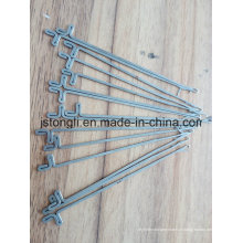 16 aiguilles de jauge pour machine à tricoter à main