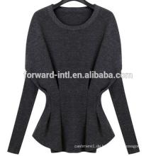 2014 Herbst und Winter Frauen Flügel Shirt Mode Langarm-Pullover Kaschmir-Pullover Wolle gestrickt