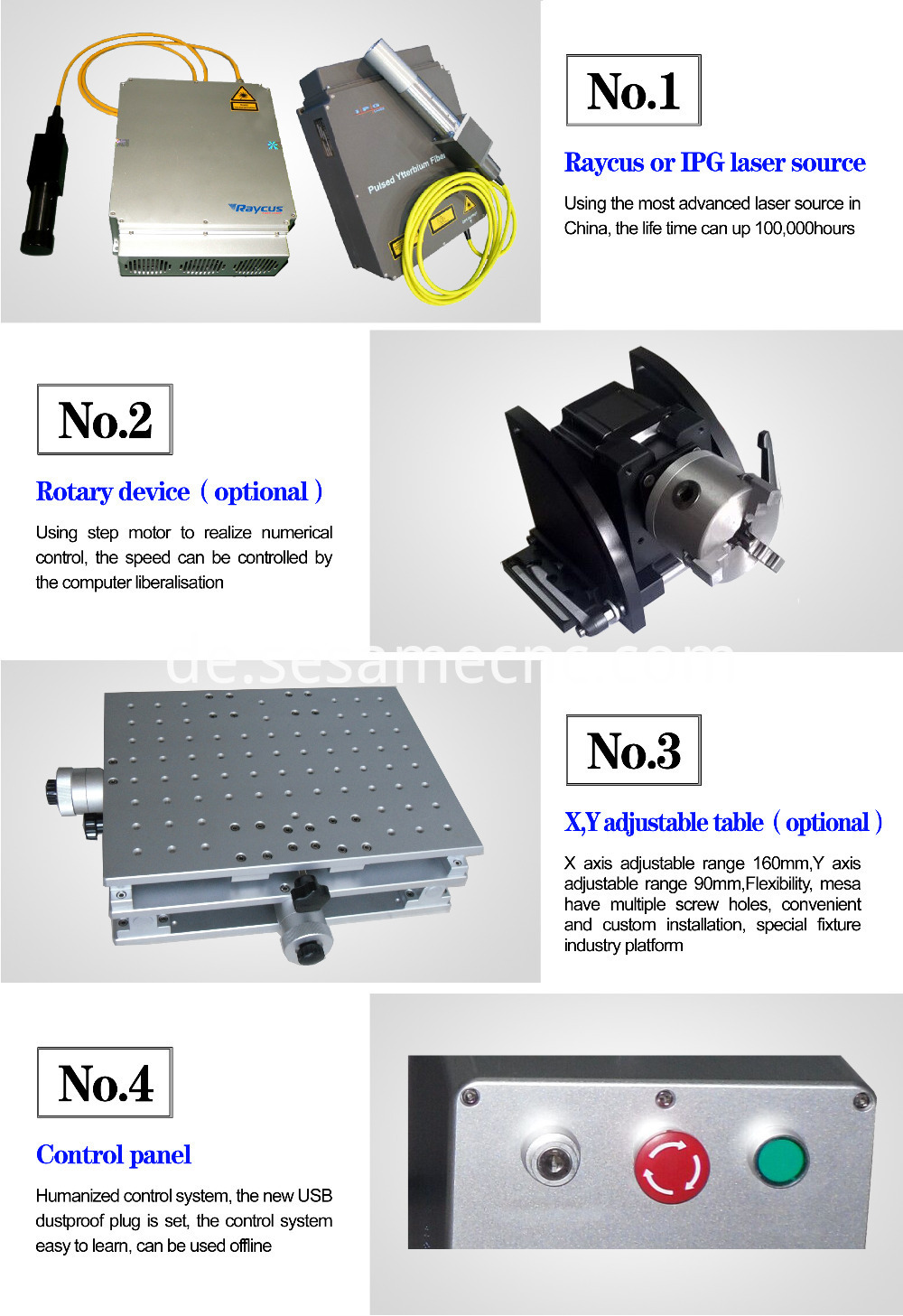 20W flying laser marking machine