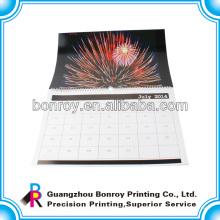 Calendario de pared personalizado fook chino personalizado calendario de impresión al por mayor