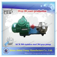 Stainless steel 304 KCB 300 gear pump commercial hydraulic gear pump in pumps