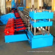 Saftey high railway guardrail plate making equipments / making machine / roll forming machine