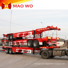 Superior 20ft 3 axle Skeleton Container Truck Trailer