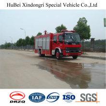 8ton Isuzu Tipo de tanque de agua y espuma Lucha contra incendios Motor Euro 4