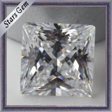 Драгоценный камень синтетического кубического циркония, вырезанный принцессой (STG-030)