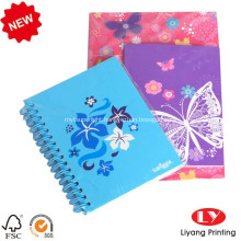 2020 custom printed recycled paper notebook