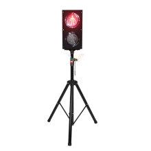 Poste de semáforo led de 125 mm de pc de decoración moderna