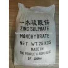 sulfato de zinc monohidratado ZnSO4-H2O