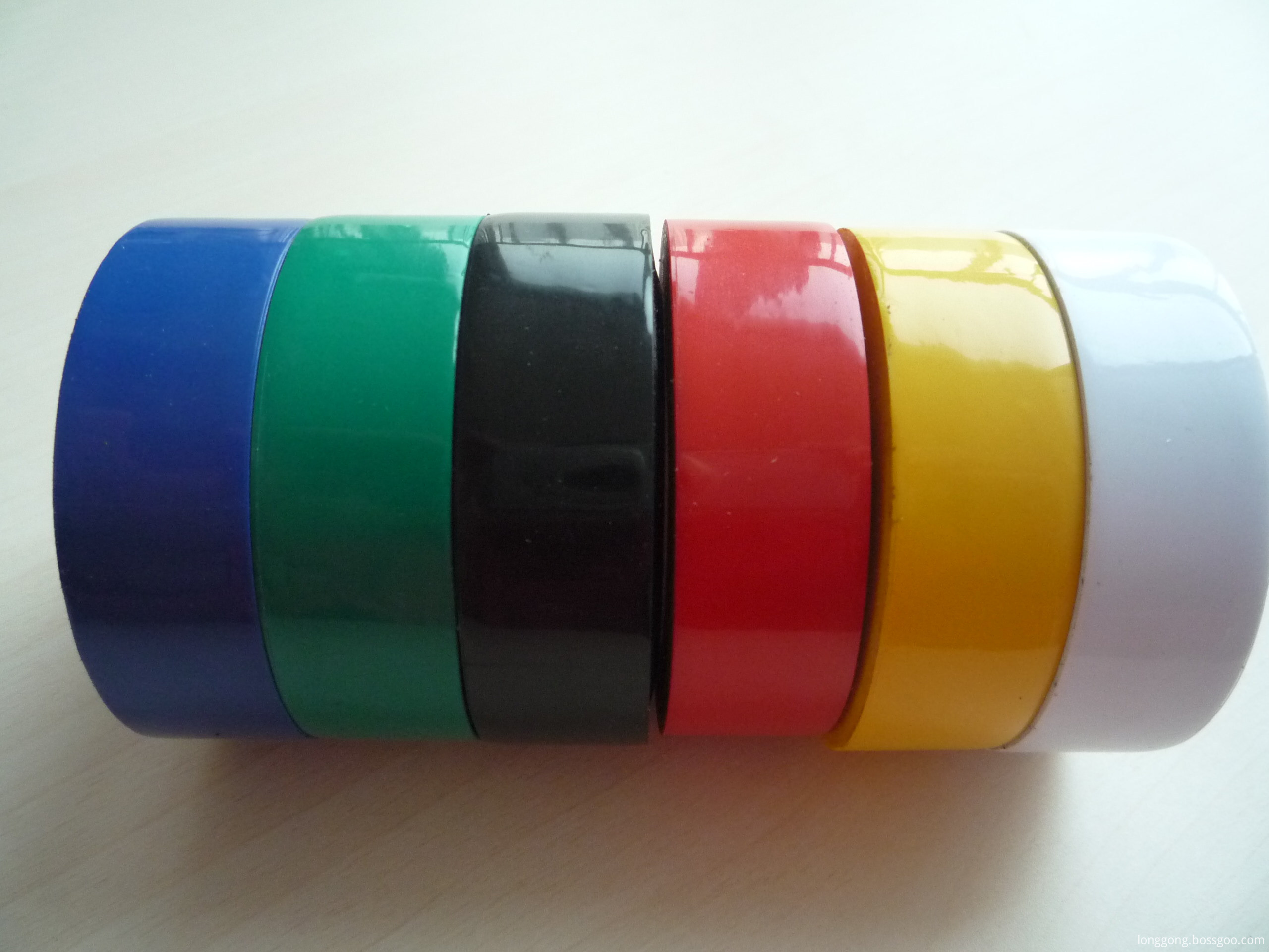 Colorful pvc electrical insualting tape