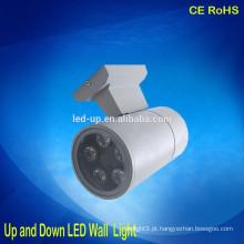 IP65 moderna rodada levou luz de parede para cima e para baixo luz de parede LED