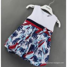 Compruebe el vestido de bebé en ropa infantil en ropa de viento británico