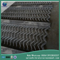 Tensile Steel Anti Clogging Screen Mesh yang tinggi