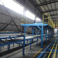EPS/PU sandwich panel continuous production line
