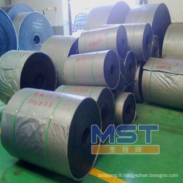 Nouveaux rouleaux de bande transporteuse en caoutchouc fabriqués en stock