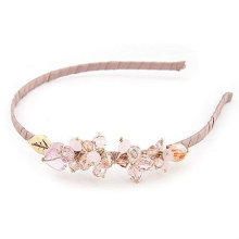 Fashion Crystal Beaded Hairband pour fille BH05