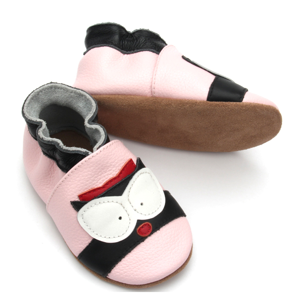 Hot Sale Handmade High Quality Genuine Leather Baby Girl Shoes