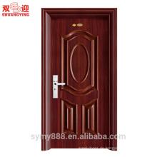 China-Lieferanten gute Qualität Wohn-Stahl Zimmer Tür günstiges Design