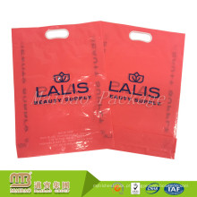 O plástico puro claro biodegradável resistente material do Virgin novo de 100% que imprime o plástico claro leva sacos