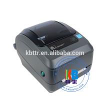 Imprimante de codes à barres à transfert thermique monochrome noir et blanc Zebra
