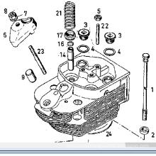 Engine Parts Valve Guidev 912 \1015