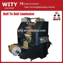 Máquina laminadora de película térmica Roll to Roll automática