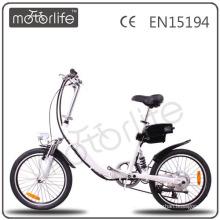 MOTORLIFE / OEM EN15194 36v 250w capteur de couple de vélo électrique, pas cher oui pliant ebike