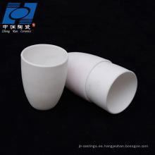 Piezas de cerámica de alta resistencia al desgaste.