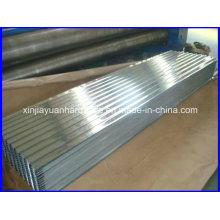 SGCC, ASTM, Dx51d chapa ondulada galvanizada com excelente qualidade