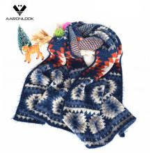 2016 Última Invierno Jacquard Zigzag Pattern Moda Bufanda
