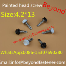 Self Drilling Screw 4.2*13 Color Head Screw