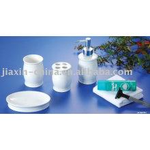 Ensemble de salle de bains en céramique pour les femmes ensemble d'accessoires de salle de bains en porcelaine
