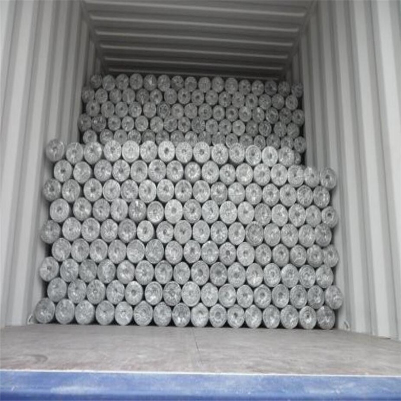 hexagonal wire mesh loading