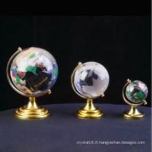 Globe en verre coloré fait sur commande pour le cadeau d'affaires