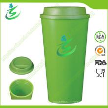 16 Oz en gros Tasse à café sans BPA avec logo personnalisé