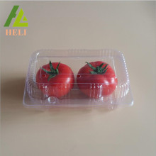 Clear Plastic Tomatoes Fruit Packaging Container