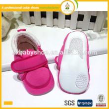 2015 Großhandel hochwertigen neugeborenen billig weichen einzigen Baumwollgewebe Baby Schuhe