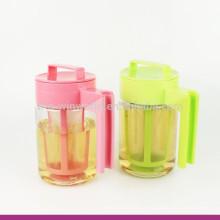 2017 New Product Plastic BPA Free Water Brew Tea Maker/Pot