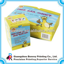 Wholesale custom printed Decorative Luxury China recycled color handmade empty gift paper boxes