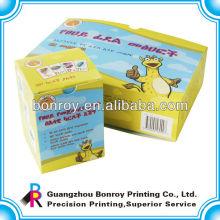 Оптовой напечатанные таможней декоративные элитные Китай рециркулированный цвет ручной работы пустой подарок бумажные коробки