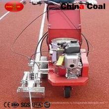Стороны push Термопластиковая краска Горячая линия машина дороги маркировки для спортивных полей резиновые покрытия