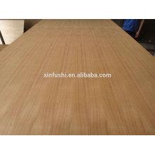 Preço da madeira compensada da teca 4mm para a decoração / 4mm teca v