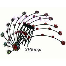 Fashion Hair Jewelry/Diamond Hair Comb/ Hair Comb (XHB1091)