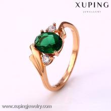 12348- Xuping Gold Plated Ring Ventas calientes Artículo Joyas al por mayor