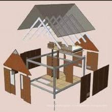 Сборные стальные конструкции для проживания (MV-06)
