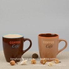 Taza de cerámica esmaltada color popular de la venta caliente