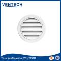 Grelha redonda impermeável do fabricante excelente para o uso da ventilação