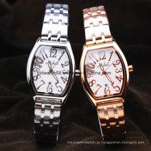 Relógio De Bracelete à Moda Das Mulheres De Aço Inoxidável