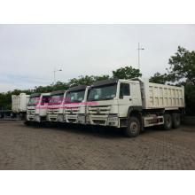 Camión volquete LHD blanco de Sinotruk