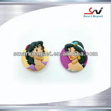 custom promotional soft pvc 3D fridge magnet
